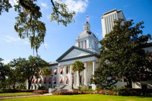 Florida Capital building on a sunny day