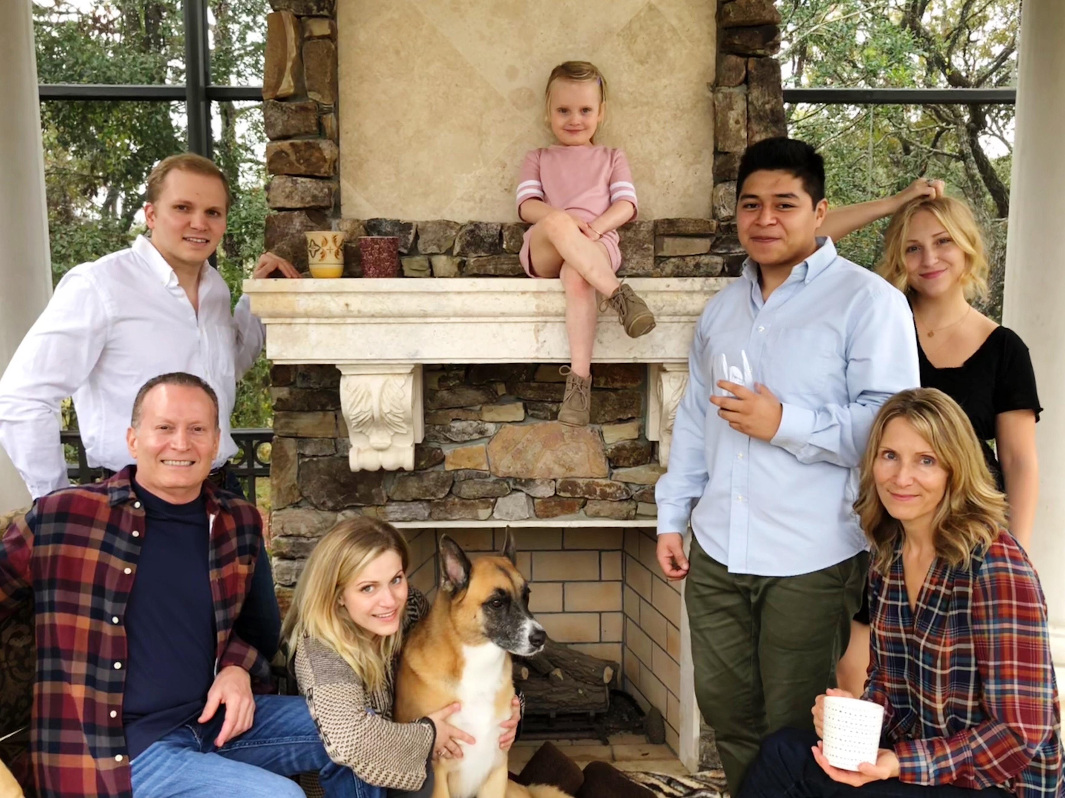 Rep. Massullo with his family